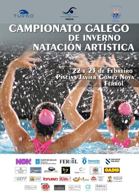 campionato galego de inverno natación artística