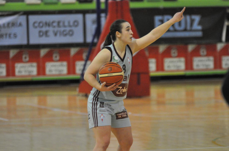 Anne Seniosian, xogadora do Celta da Liga Feminina 2 / CELTA BALONCESTO