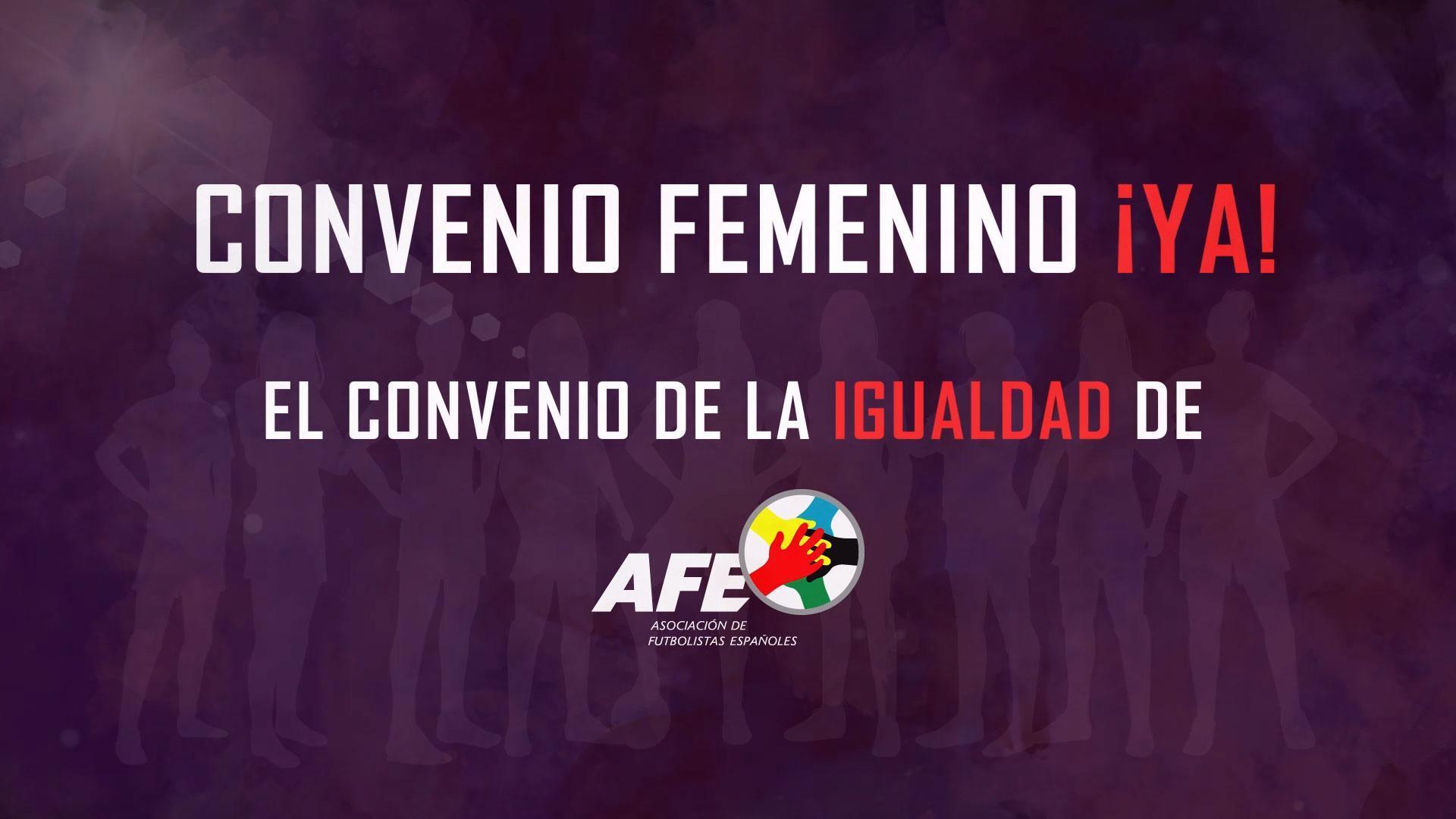 convenio femenino AFE