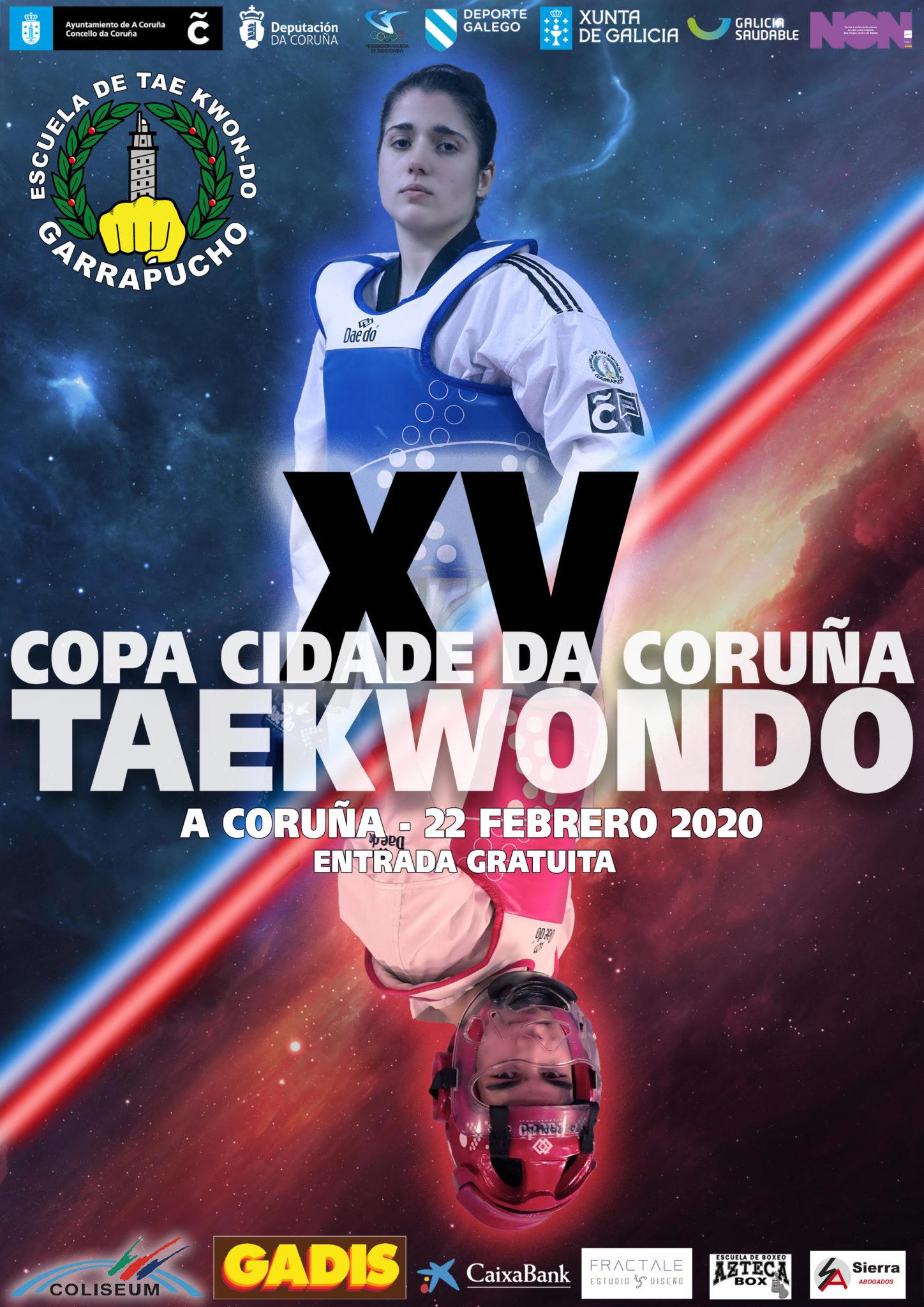 copa cidade da coruna taekwondo