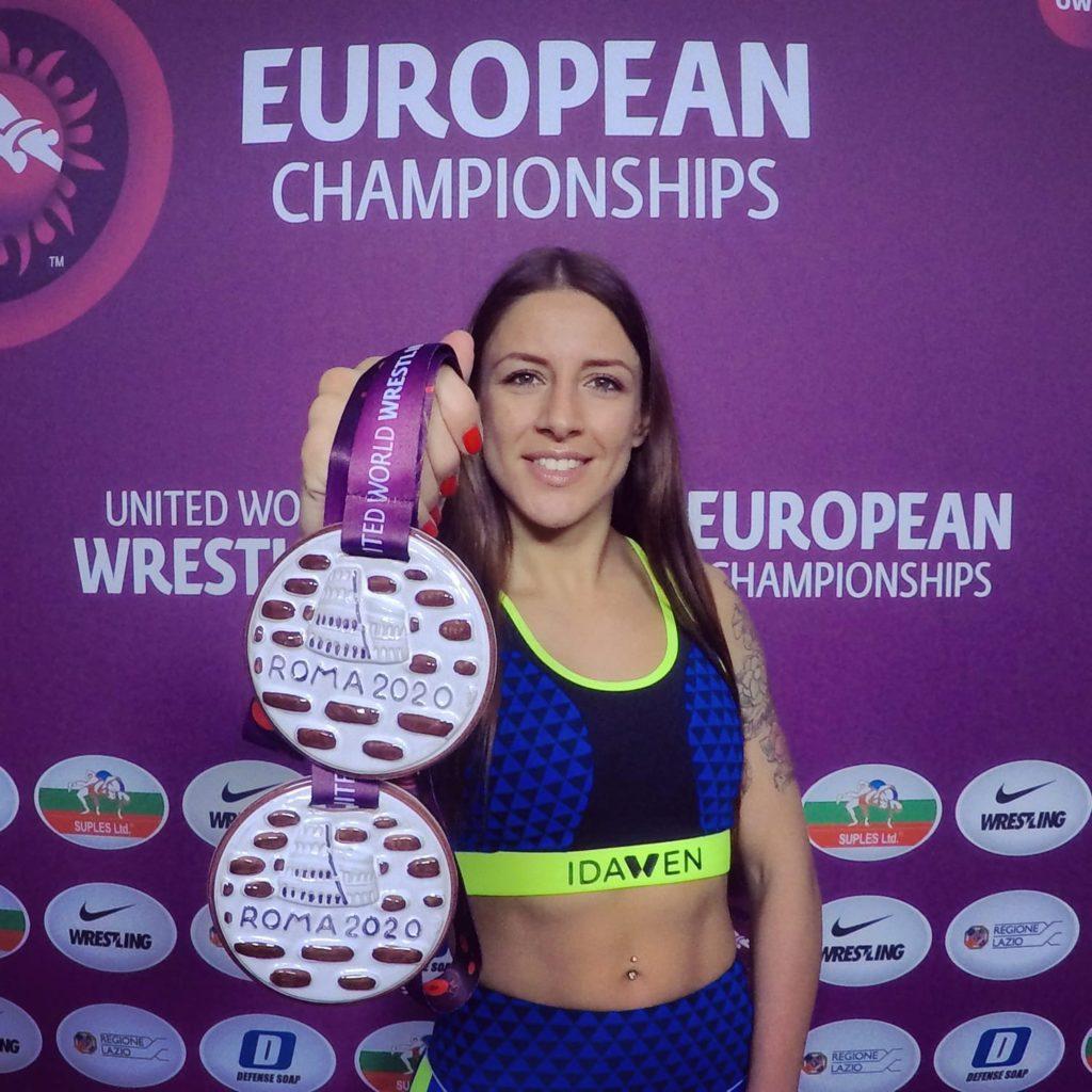 Sara Vieitez, bronce nos Campionatos de Europa de Grappling e Grappling-Gi / FEGALOITA