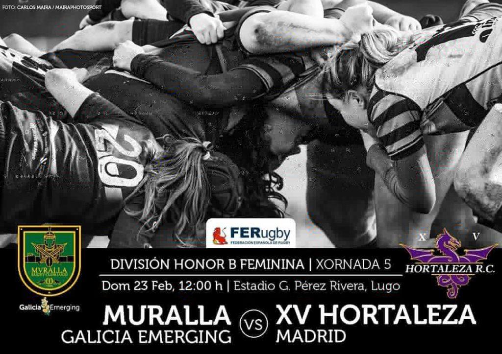 Muralla RC vs Hortaleza