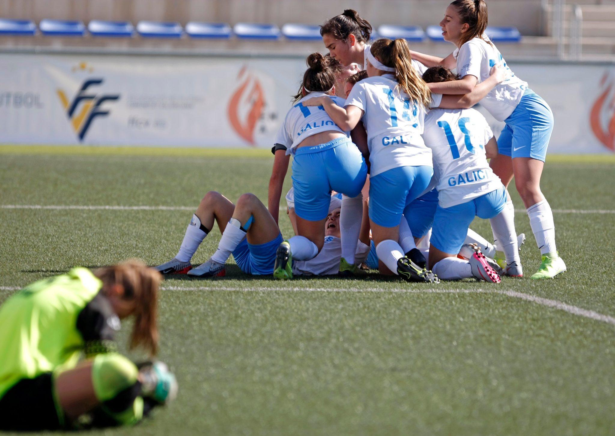sub17-selección-galega-contra-Murcia