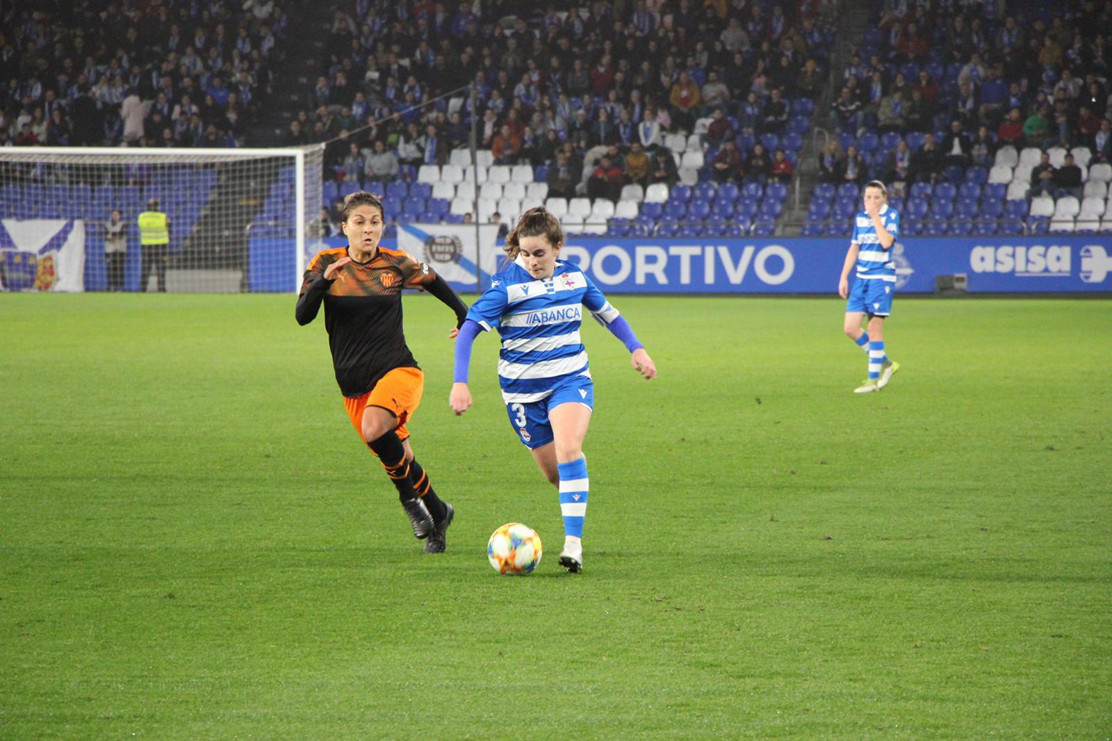 Tere Abelleira durante o partido de Copa | wykazszkowski
