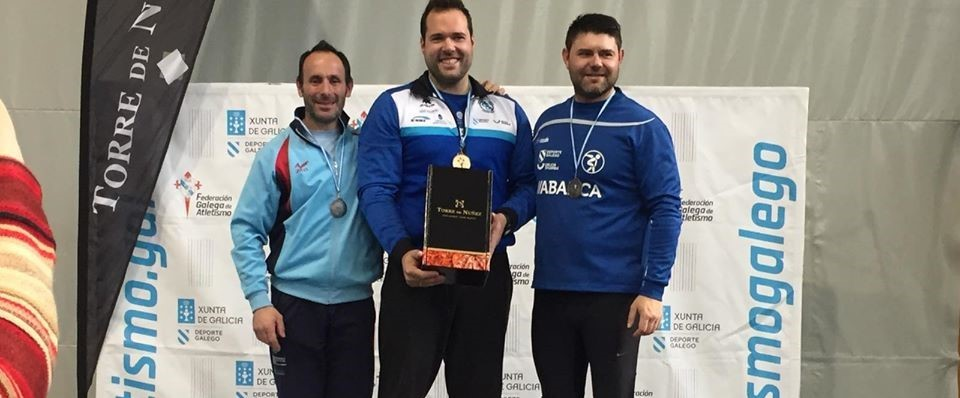 victor-campionato de galicia absoluto de pista