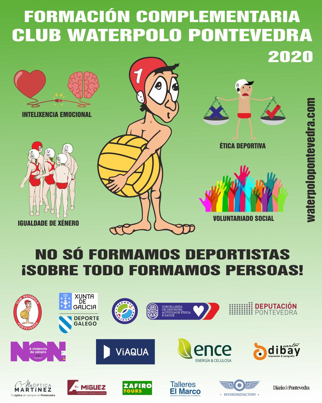 O CW Pontevedra volve a poñer en marcha o seu programa de formación complementaria / CW PONTEVEDRA
