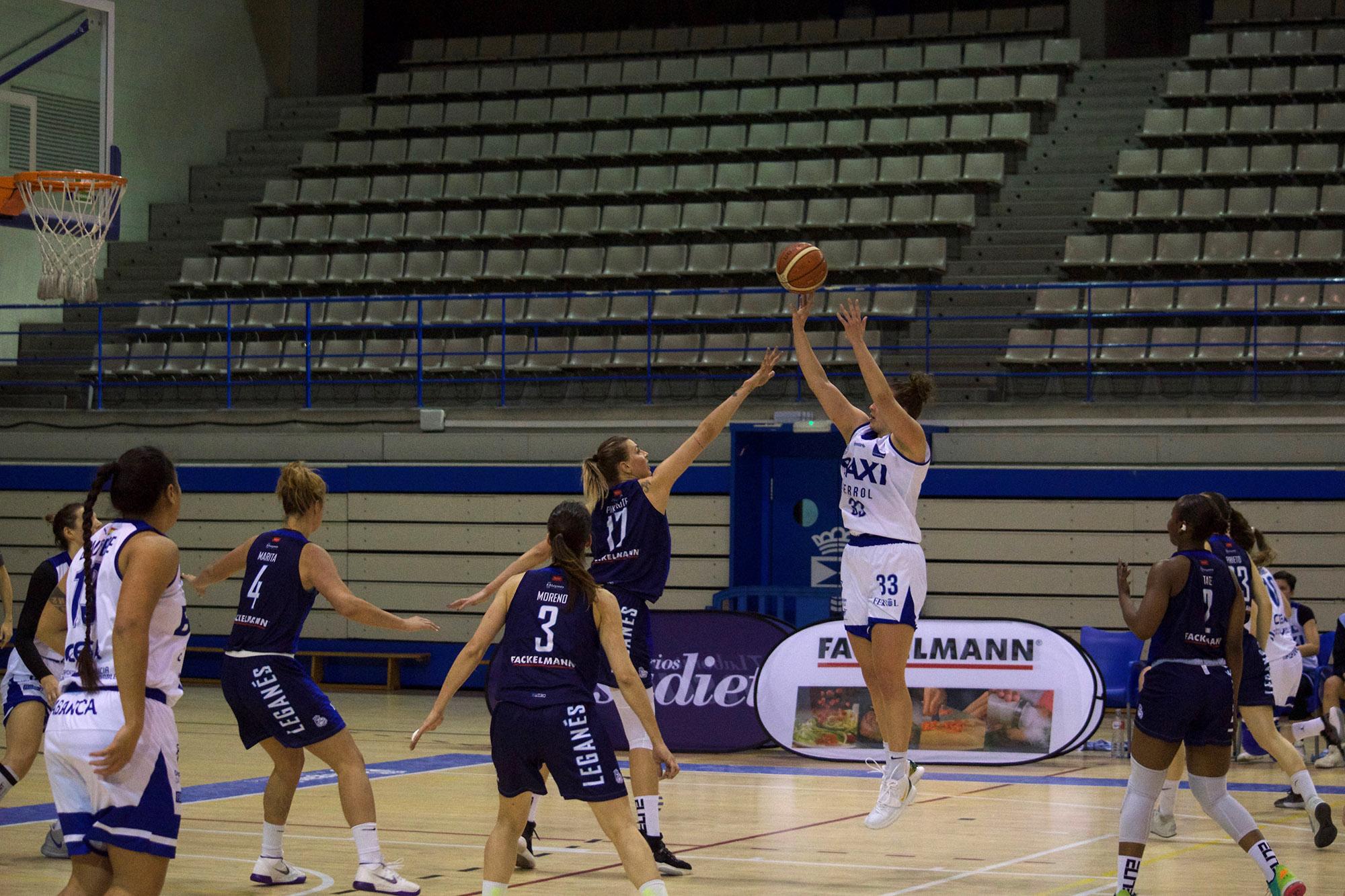 Primeira derrota do 2020 do Baxi Ferrol / BAXI FERROL