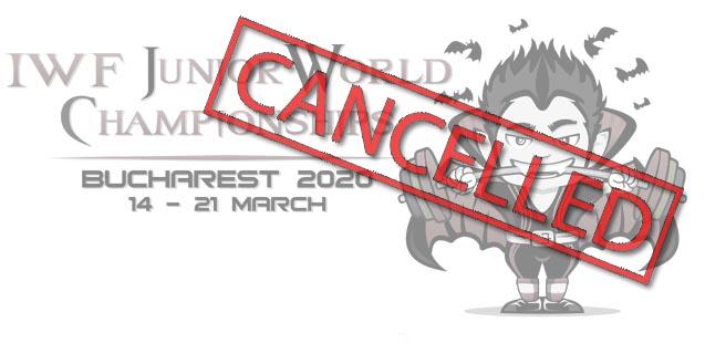 Mundial Junior 2020, cancelado