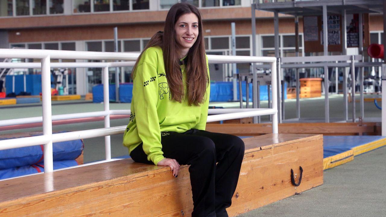 Leticia Gil bronce en Lonxitude - FGA