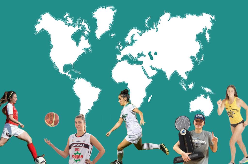 Deportistas galegas polo mundo