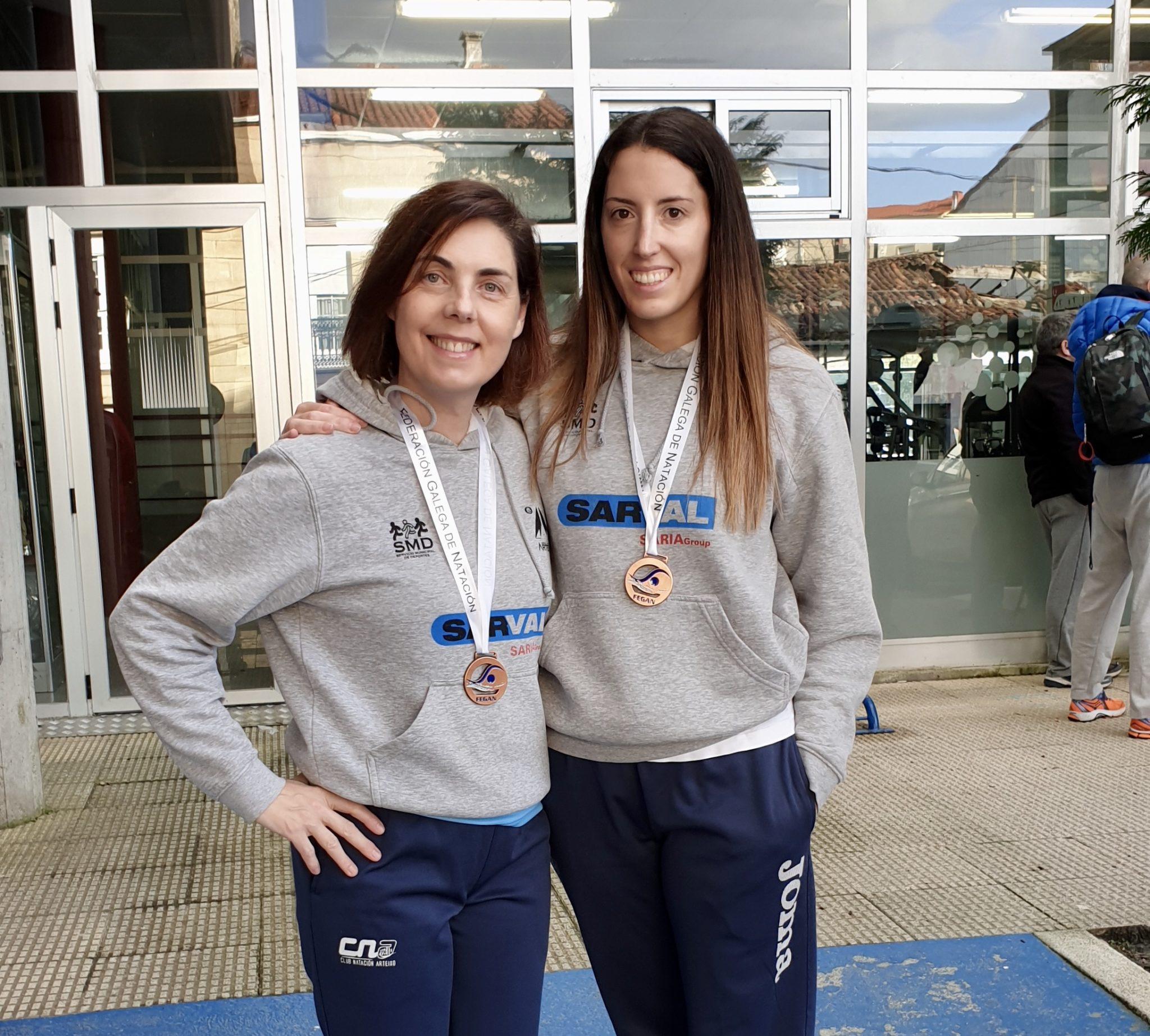 María Oliveira e Mª Jesús Méndez | FEGAN