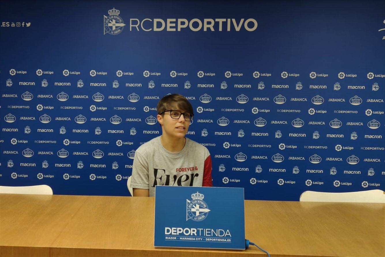 Miriam Ríos, RC Deportivo / AS NOSAS