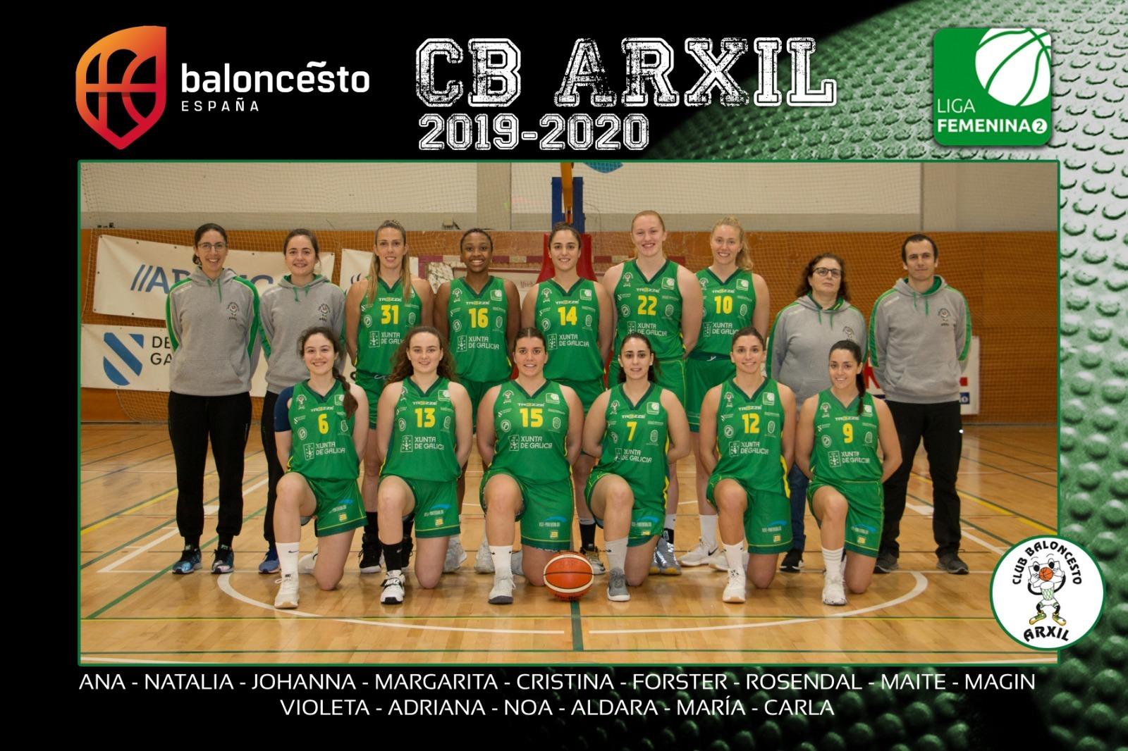 Plantel CB Arxil 2019-2020 - CB Arxil