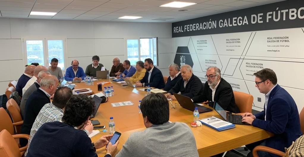 Reunión Federación galega fútbol | RFGF