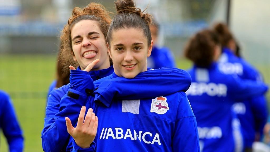 Tere Abelleira e Laura Vázquez | RCD