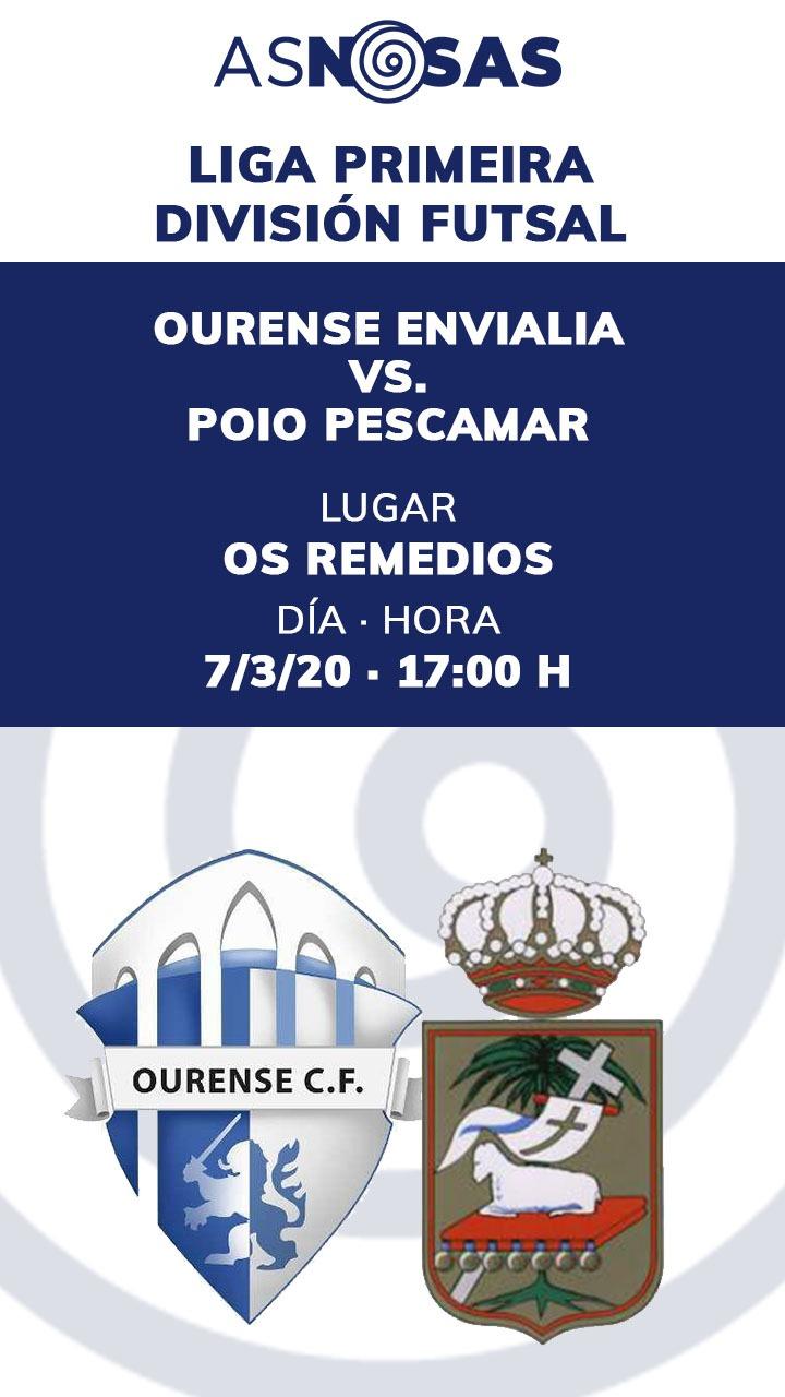 Ourense Envialia - Poio Pescamar | AS NOSAS