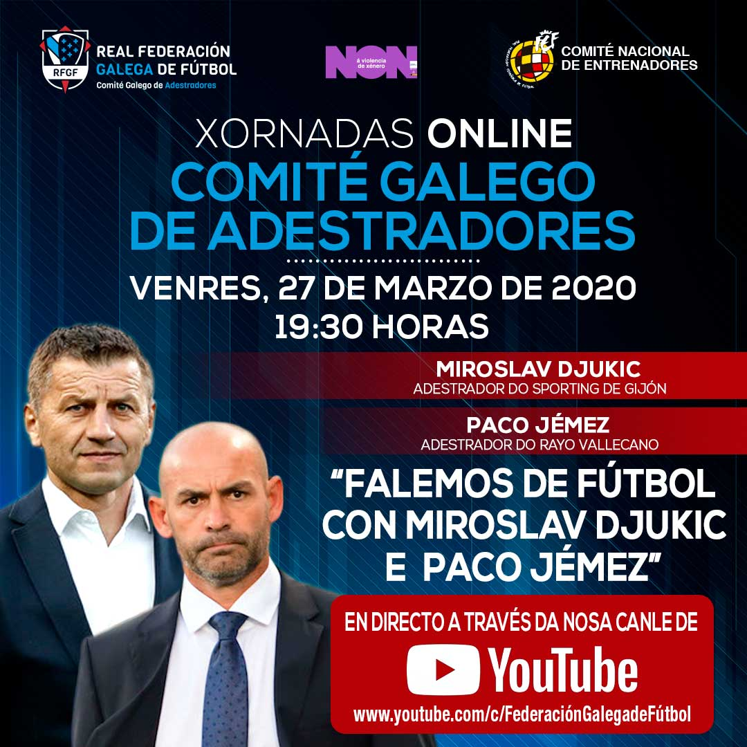 Xornadas Online - Comité Galego de adestradores | RFGF