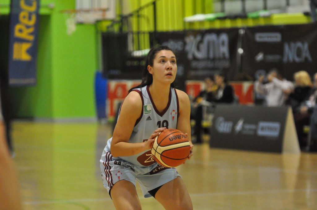 Ángela Coello, xogadora do Celta Zorka Recalvi / A. C.