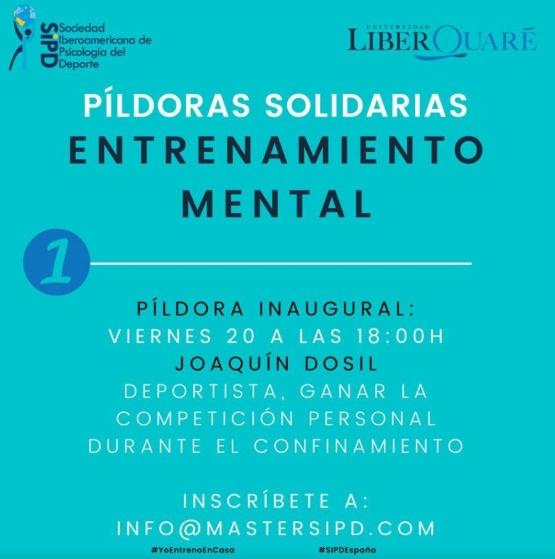 Píldoras Solidarias, Entrenamiento Mental / SECRETARIA XERAL PARA O DEPORTE