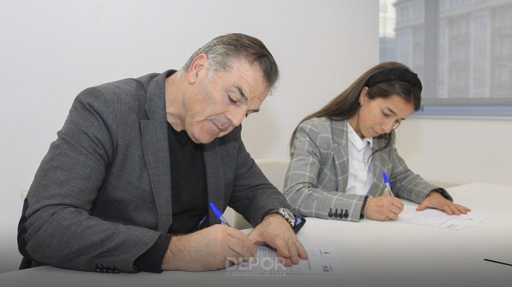 Cris Martínez renova por dous anos co Dépor Abanca / RCD