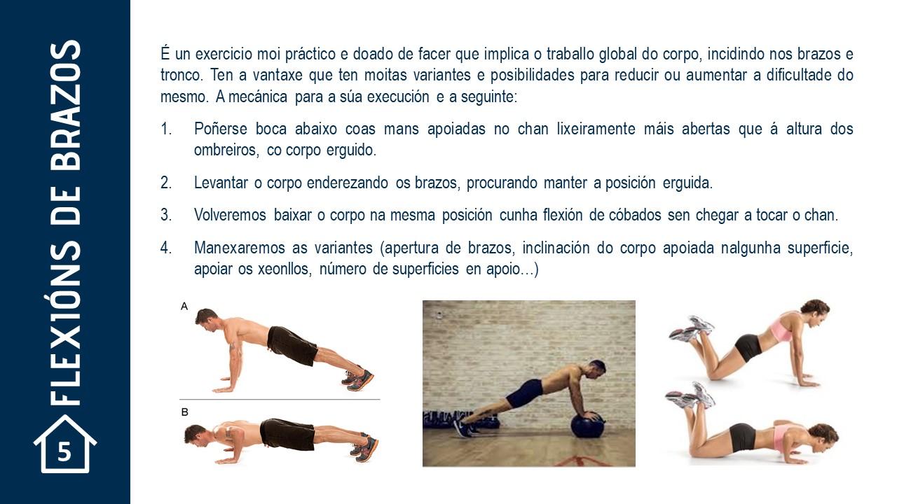 Flexión de brazos | RFGF