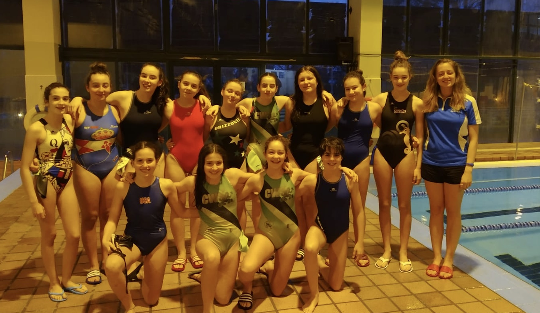 Grupo tecnificación waterpolo feminino | FEGAN