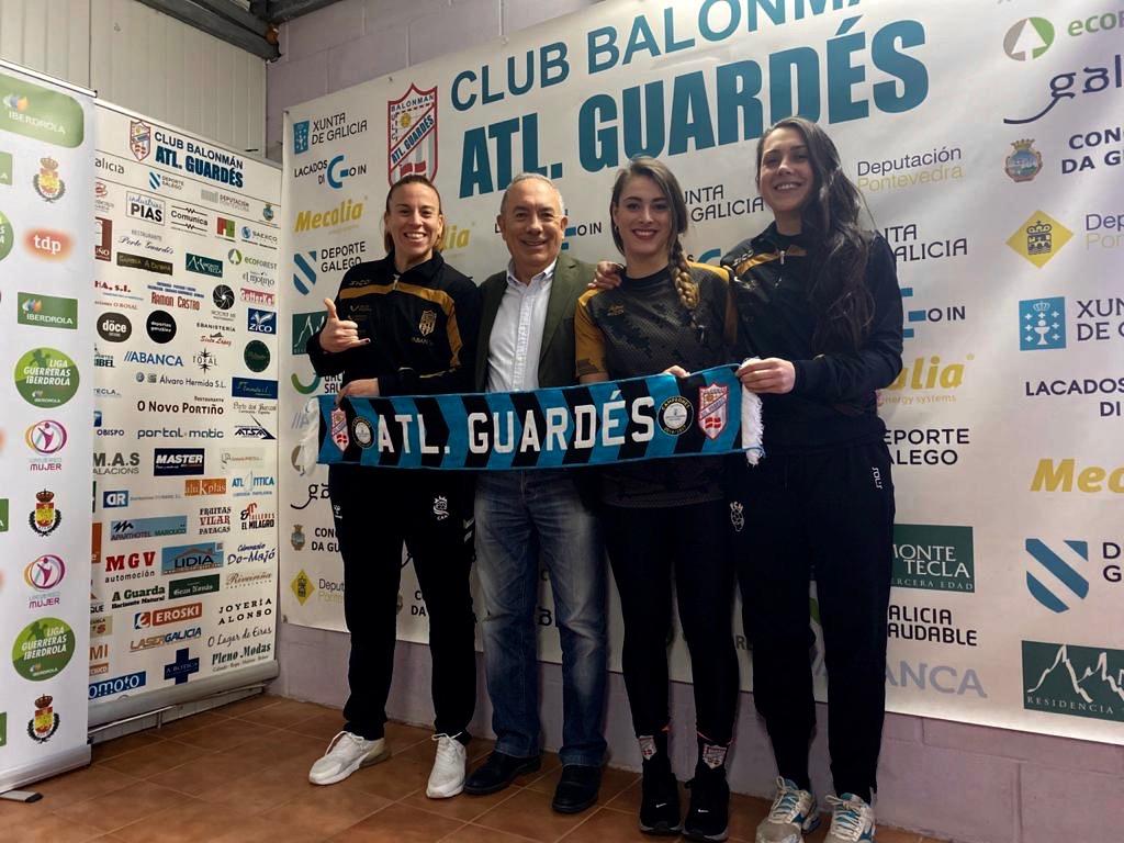 O Guardes renova a África Sempere, Marisol Carratú e Lorena Pérez / GUARDÉS