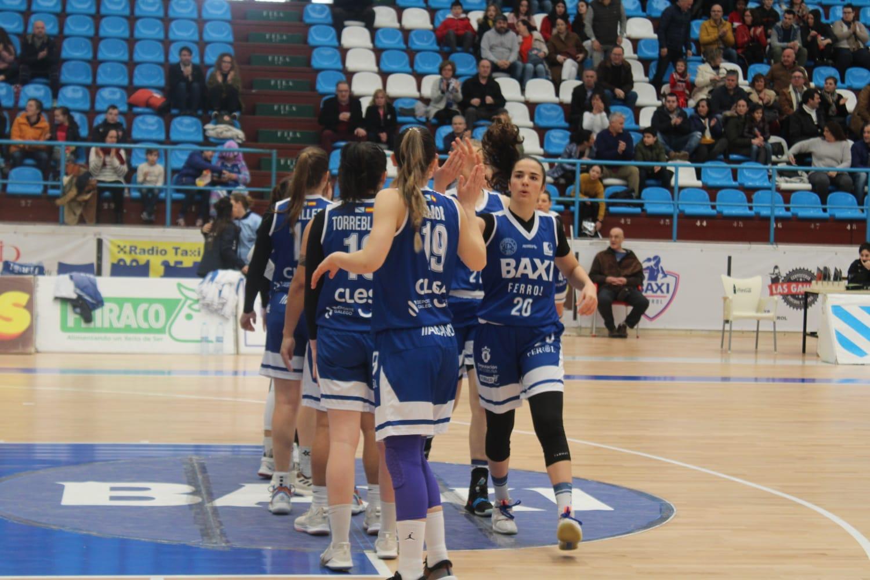 Natalia Rodríguez, xogadora do Baxi Ferrol / Pati Castillo