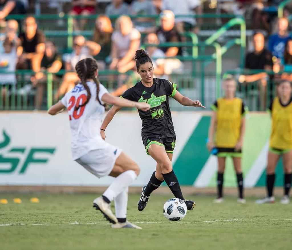 Rosalia Muiño, ex xogadora do Vitoria CF e o Dépor Abanca / RM