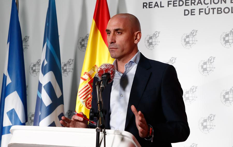 Luis Rubiales, o presidente da RFEF | RFEF