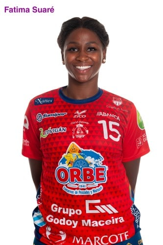 Fátima Suaré, xogadora do Porriño | CBP