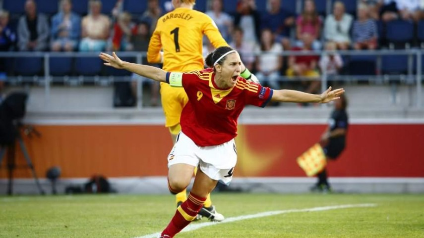 Vero Boquete coa Selección Española - LaLiga
