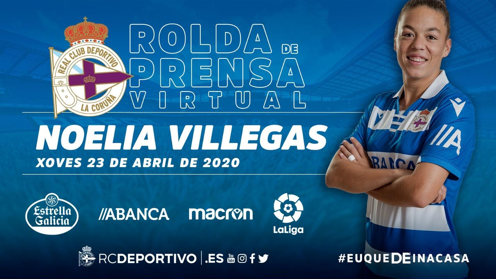 Noelia Villegas, xogadora do Dépor | RCD