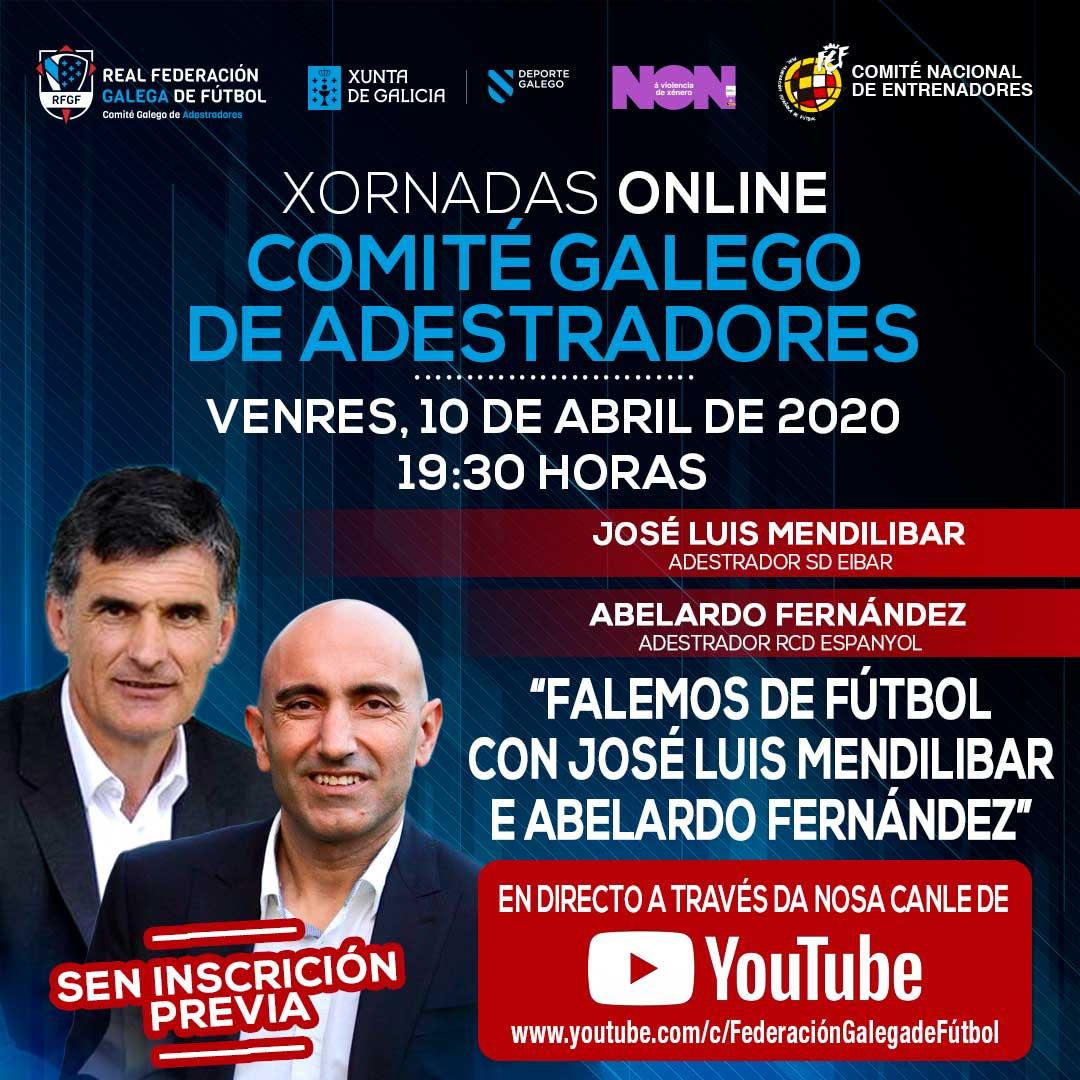 Xornadas online, Abelardo e Mendilibar | RFGF