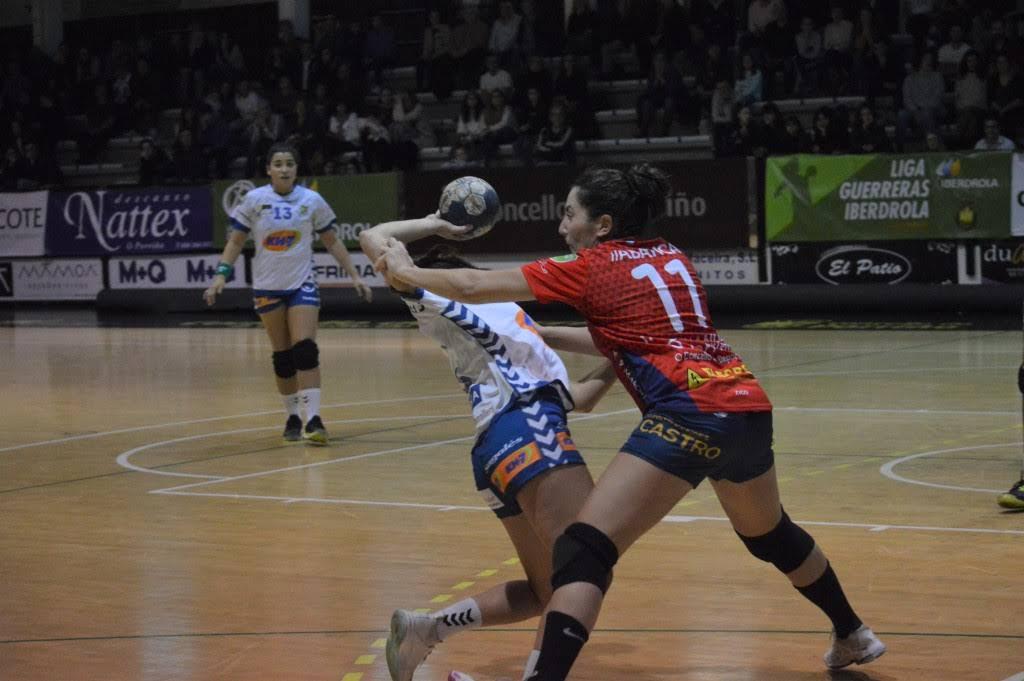 Inés Hernández, xogadora do Porriño | COP