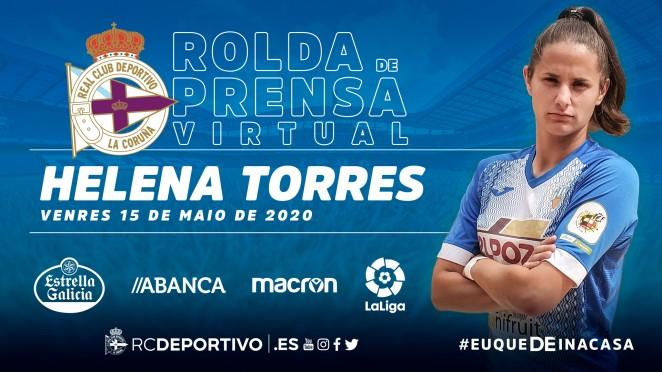 Helena Torres, fichaxe do Dépor ABANCA - RCD