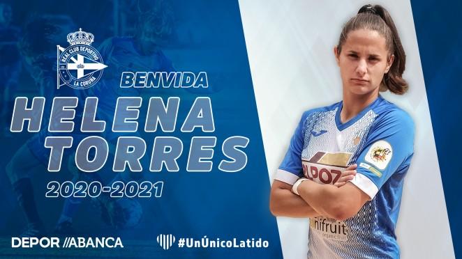 Helena Torres, fichaxe do Dépor - RCD