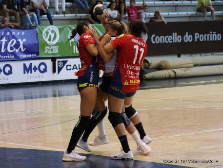 Inés Hernández, xogadora do Porriño | @XoelGil19