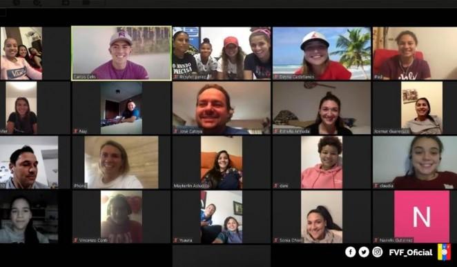 Kika encontro virtual seleccionadora venezuela - RCD