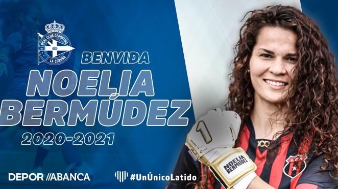 Noelia Bermúdez, fichaxe polo Dépor ABANCA - RCD
