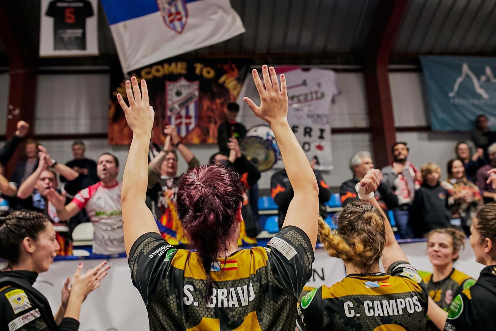 Sara Bravo, na súa etapa no Atlético Guardés - MAG (2)
