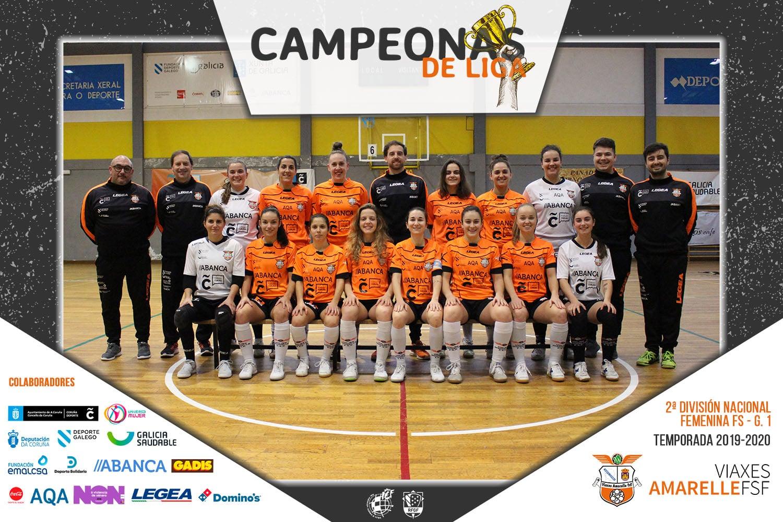 Viaxes Amarelle FSF Campionas de grupo Liga 2019-20