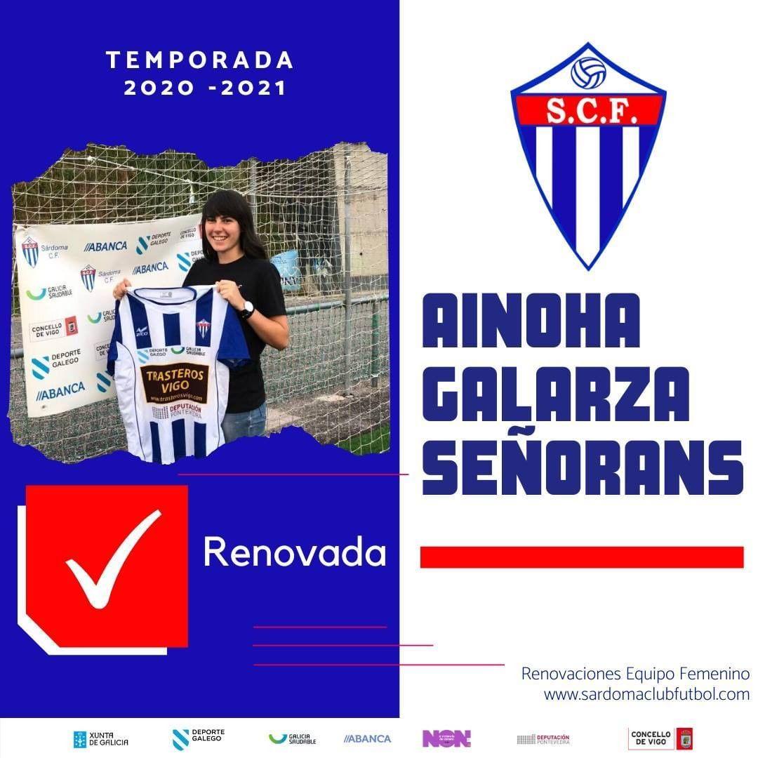 Ainhoa Galarza Señoráns, xogadora do Sárdoma CF