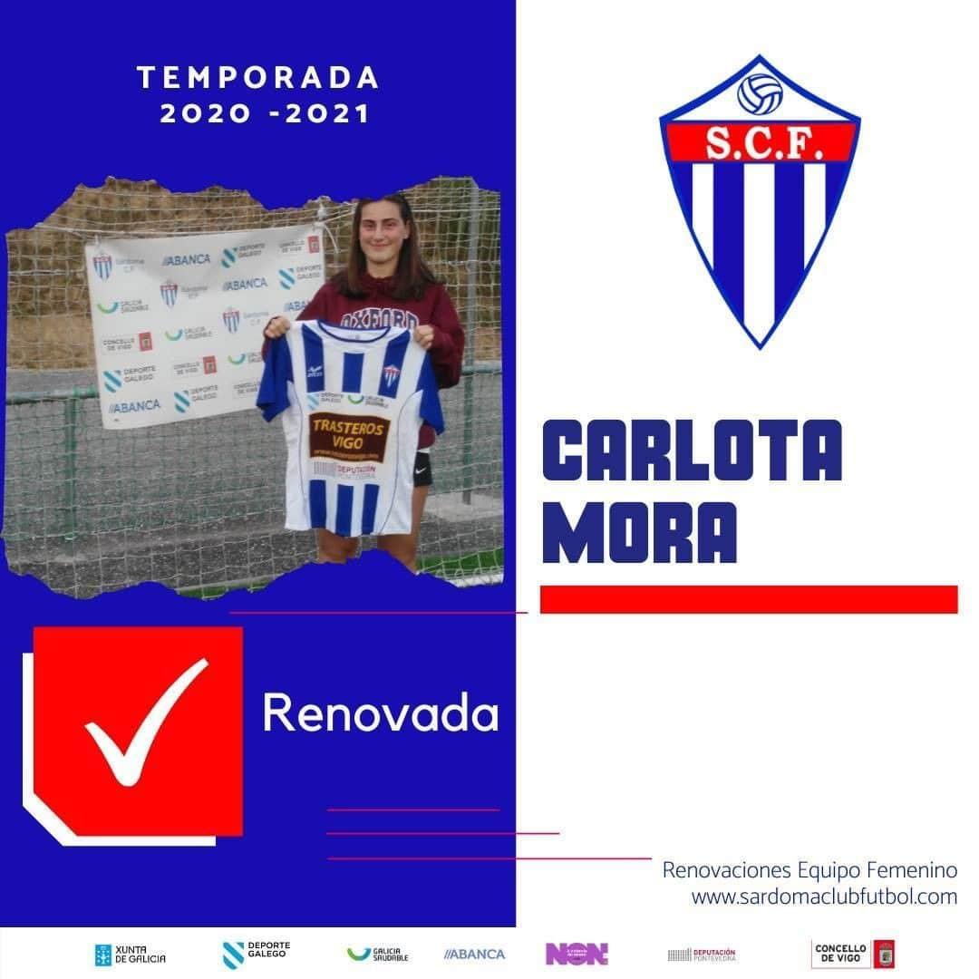 Carlota Mora, xogadora do Sárdoma CF