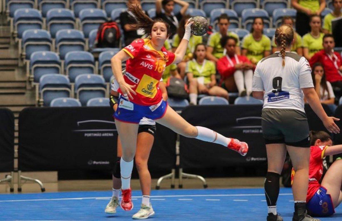 Daniela Moreno coa Selección Española