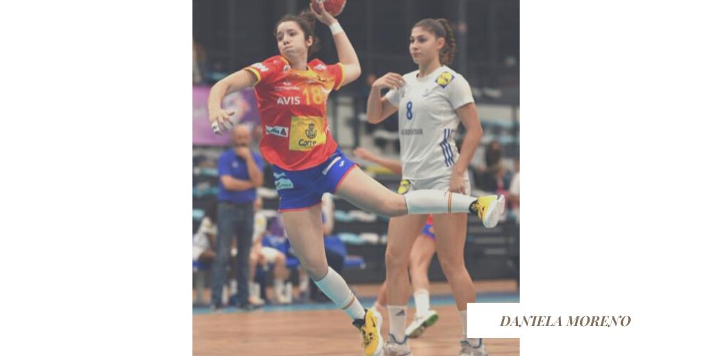 Daniela Moreno xogadora do Atlético Guardés - MAG