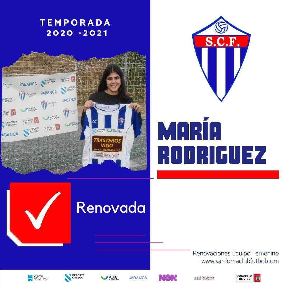 María Rodríguez, xogadora do Sárdoma CF