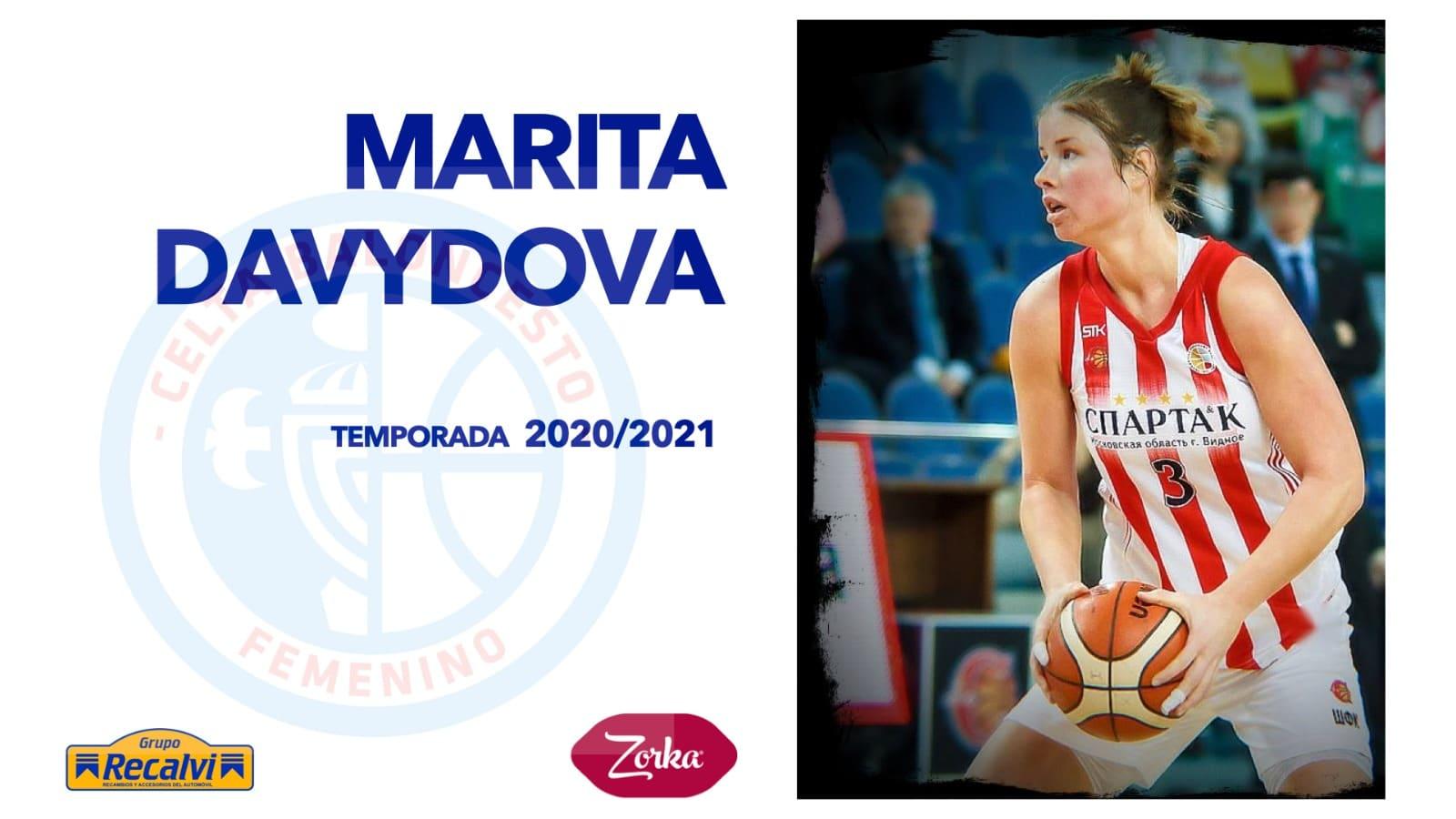 Marita Davydova, xogadora do Celta Zorka Recalvi