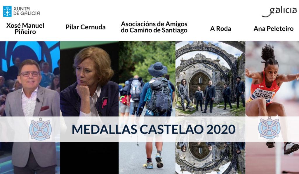 Medallas Castelao 2020, Ana Peleteiro / XUNTA DE GALICIA