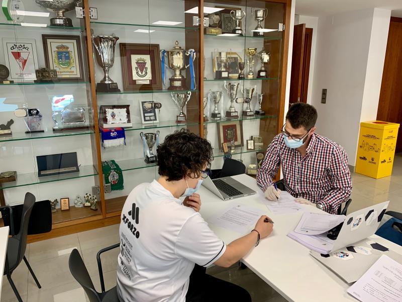 O Fisgón FS e o Leis Pontevedra realizaron os test de COVID-19 na clínica da Mutualidade da RFGF en Pontevedra